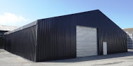 A black styled Temporary Building Types