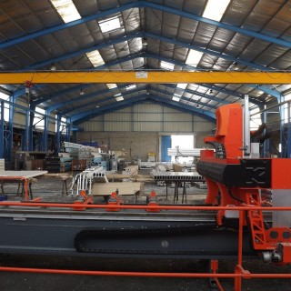 temporary workshop for engineering and manufacturing