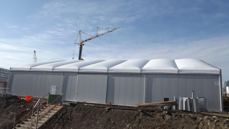 A bespoke manufacturing/workshop solution for Temporary Structures