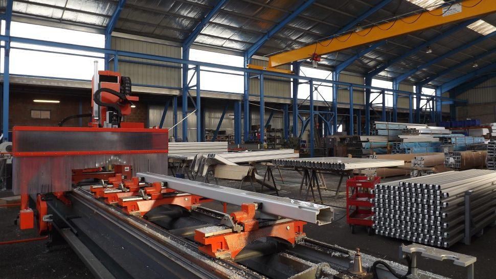 Internal of factory
