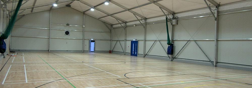 Sports Hall interior