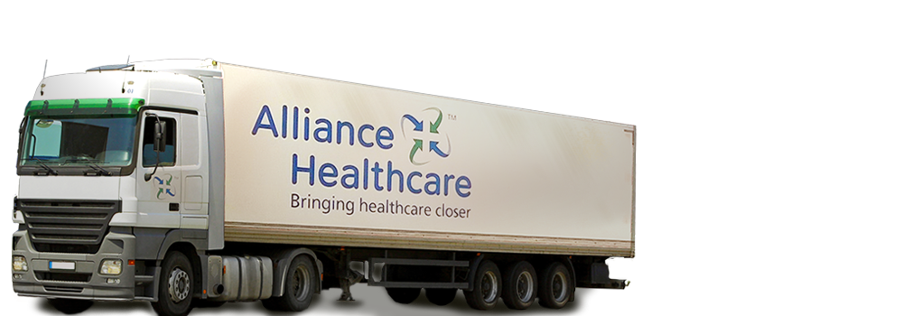 An Alliance Healthcare Lorry